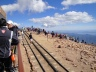 The excitement on top of Pikes Peak