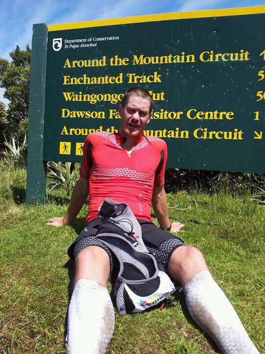 Grant Guise 6hrs 08min  45km round the mountain